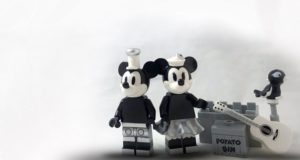 All Aboard the LEGO Steamboat Willie!