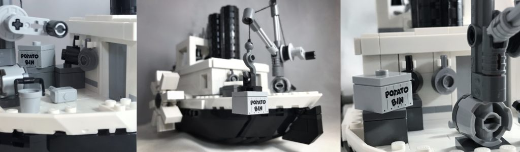 LEGO Steamboat Willie details