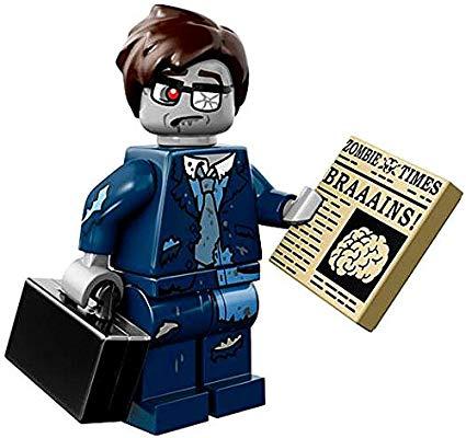 Lego ZOMBIE Skateboarder