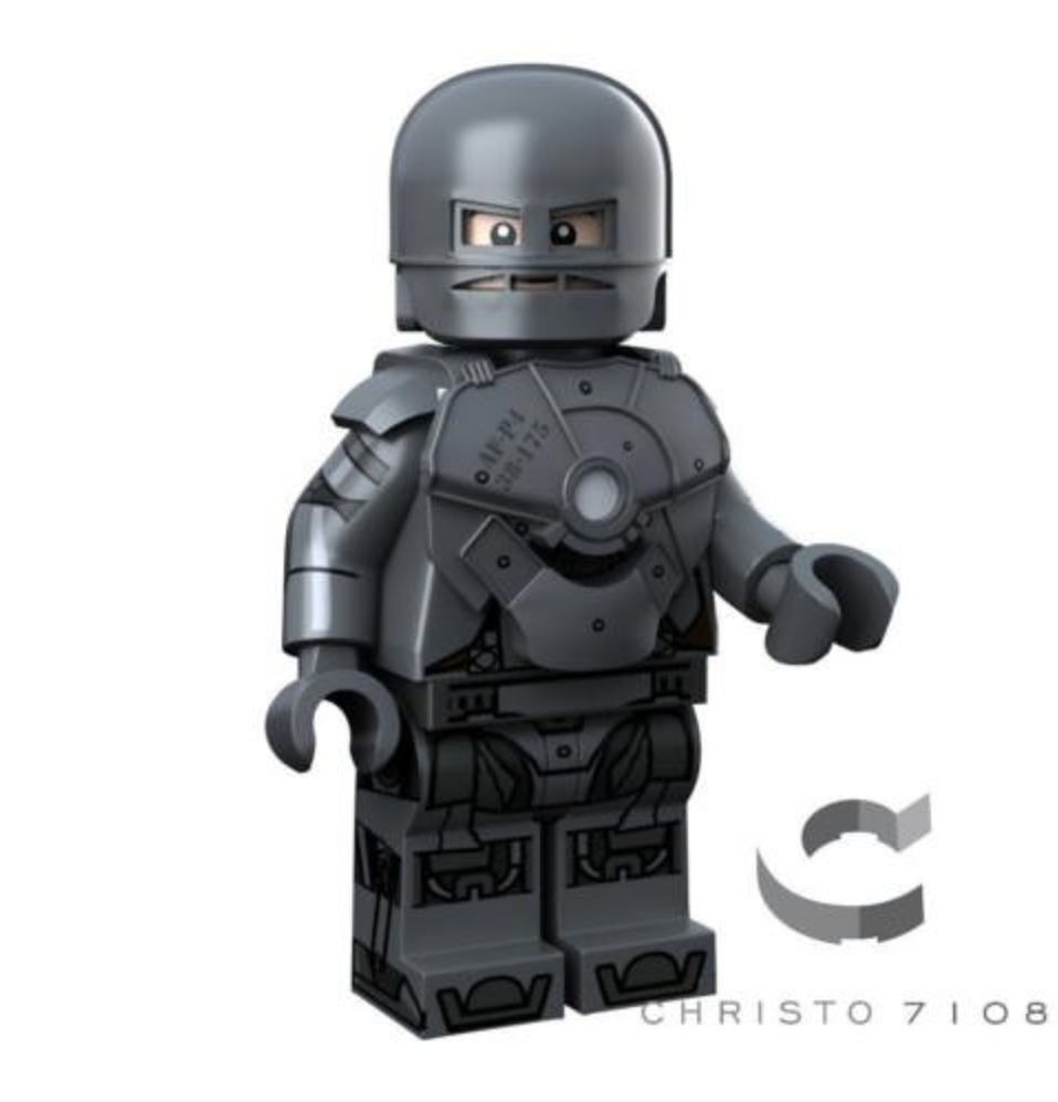 custom marvel ironman minifigure