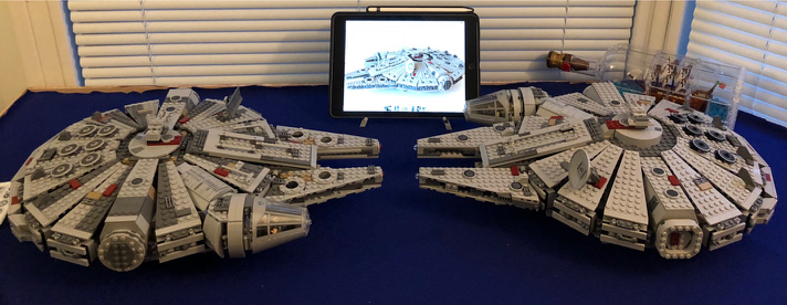 LEGO Star Wars Millennium Falcons