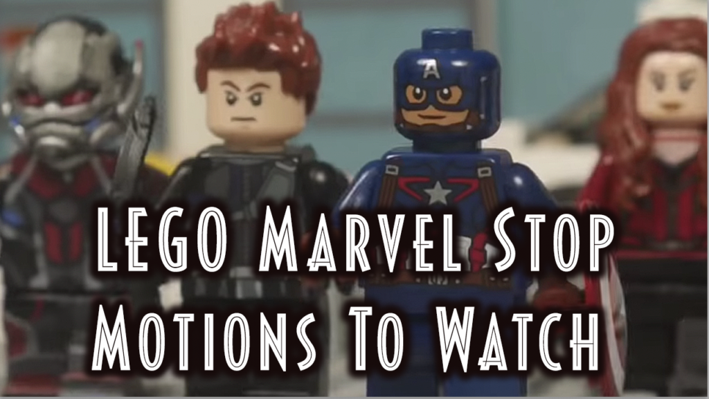 lego marvel stop motion animations