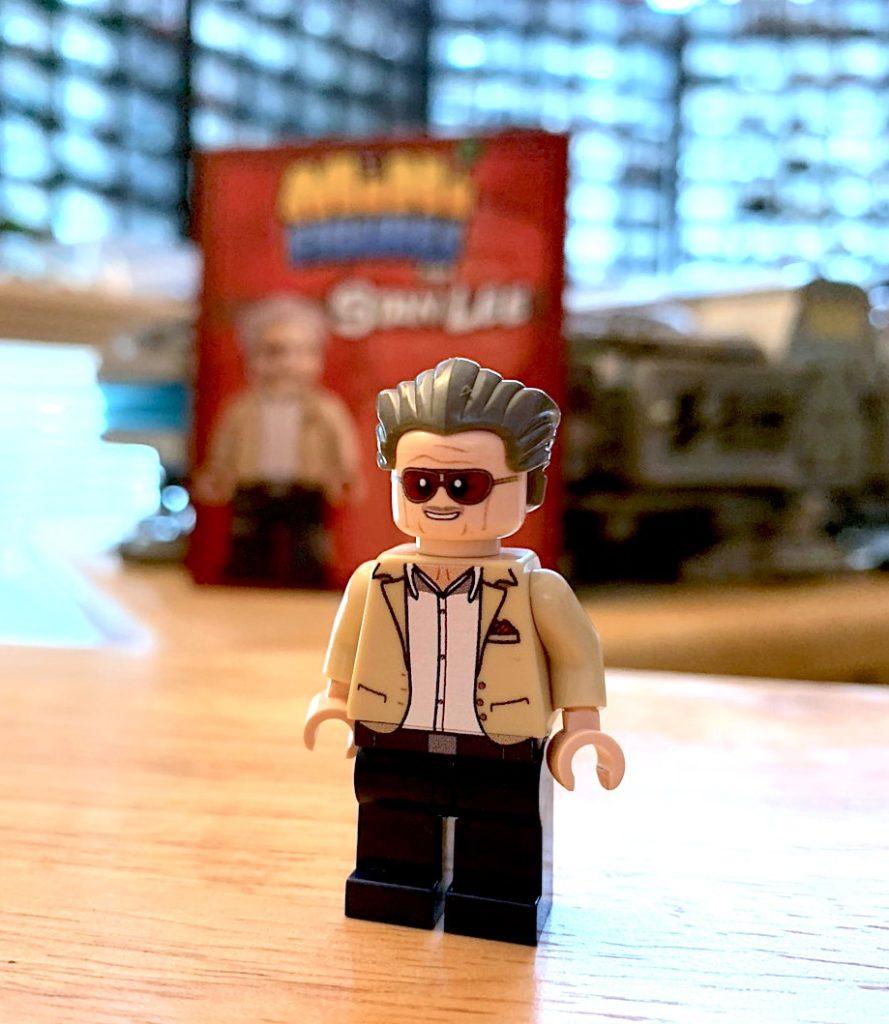 custom Stan Lee minifigure