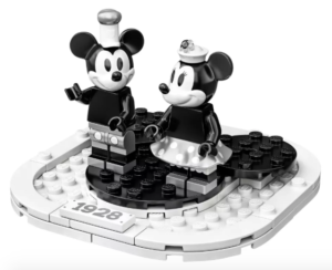 Celebrating Anniversaries: Steamboat Willie Mickey & Minnie