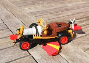 Custom Lego Chitty Chitty Bang Bang
