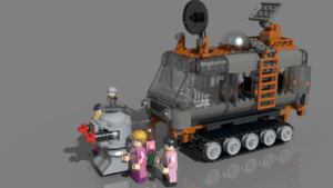 LEGO Lost Rover