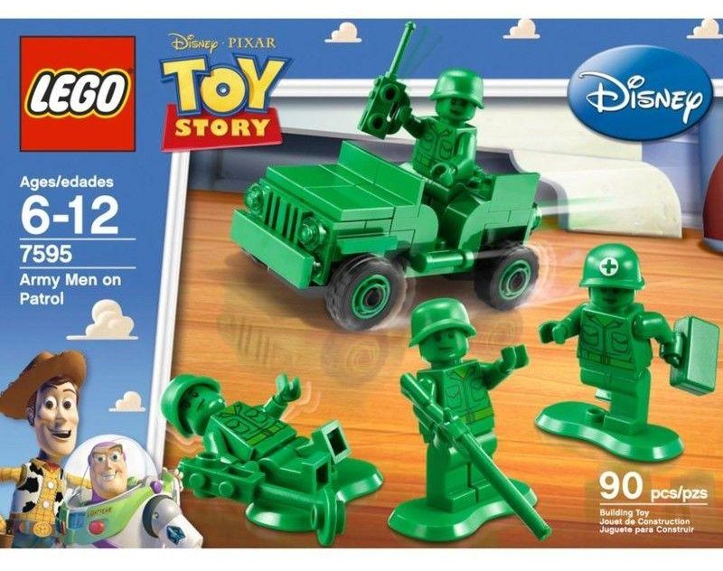 LEGO Army - Image of LEGO Set 7595 Army Men on Patrol