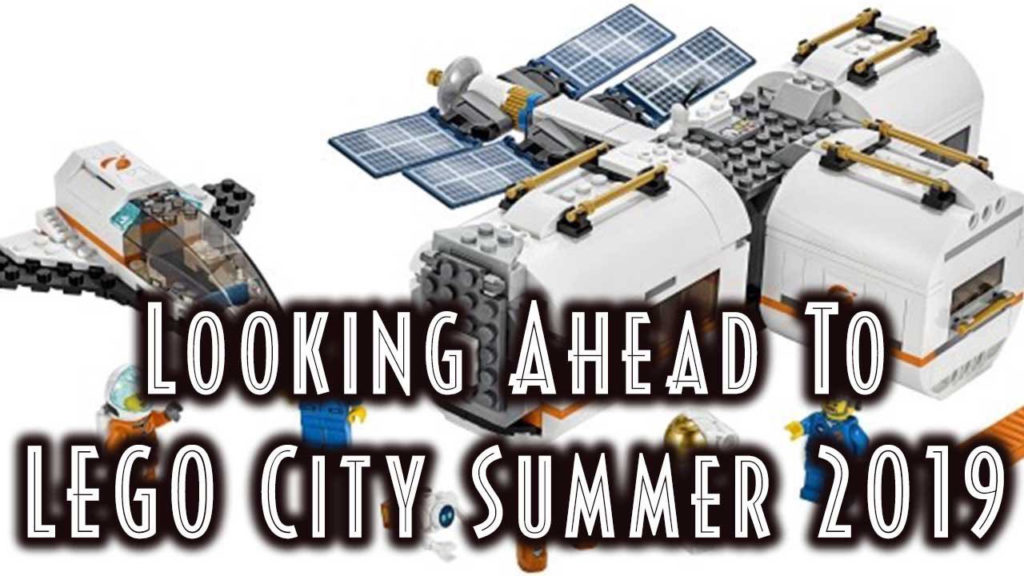 LEGO City 2019 - Looking Ahead To LEGO City Summer 2019 Graphic.