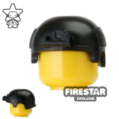Custom LEGO Headgear - Image of Black SI-Dan IBH Helmet