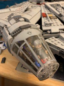 lego millenium Falcon cockpit