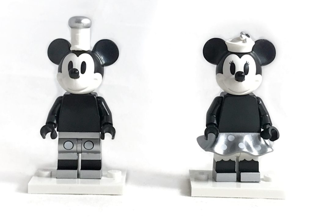 LEGO Steamboat Willie minifigures