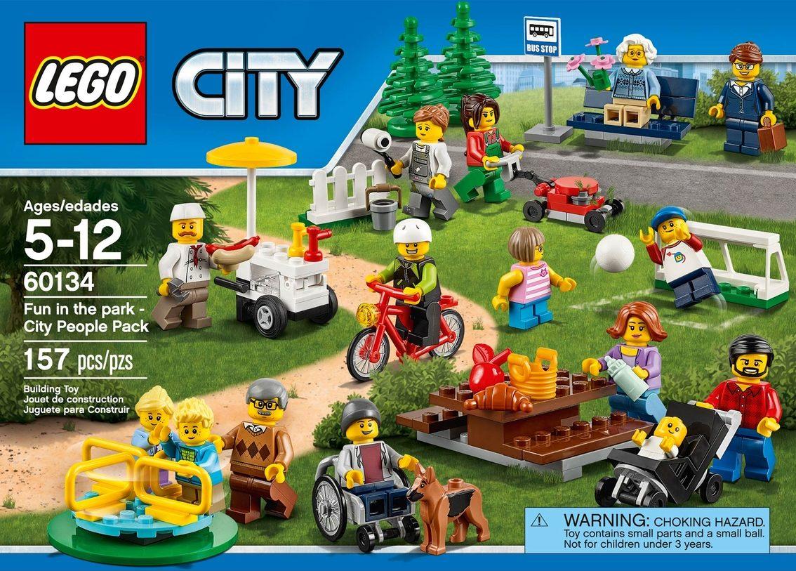 60202 Genuine Lego City Outdoors Camping EAGLE Minifig