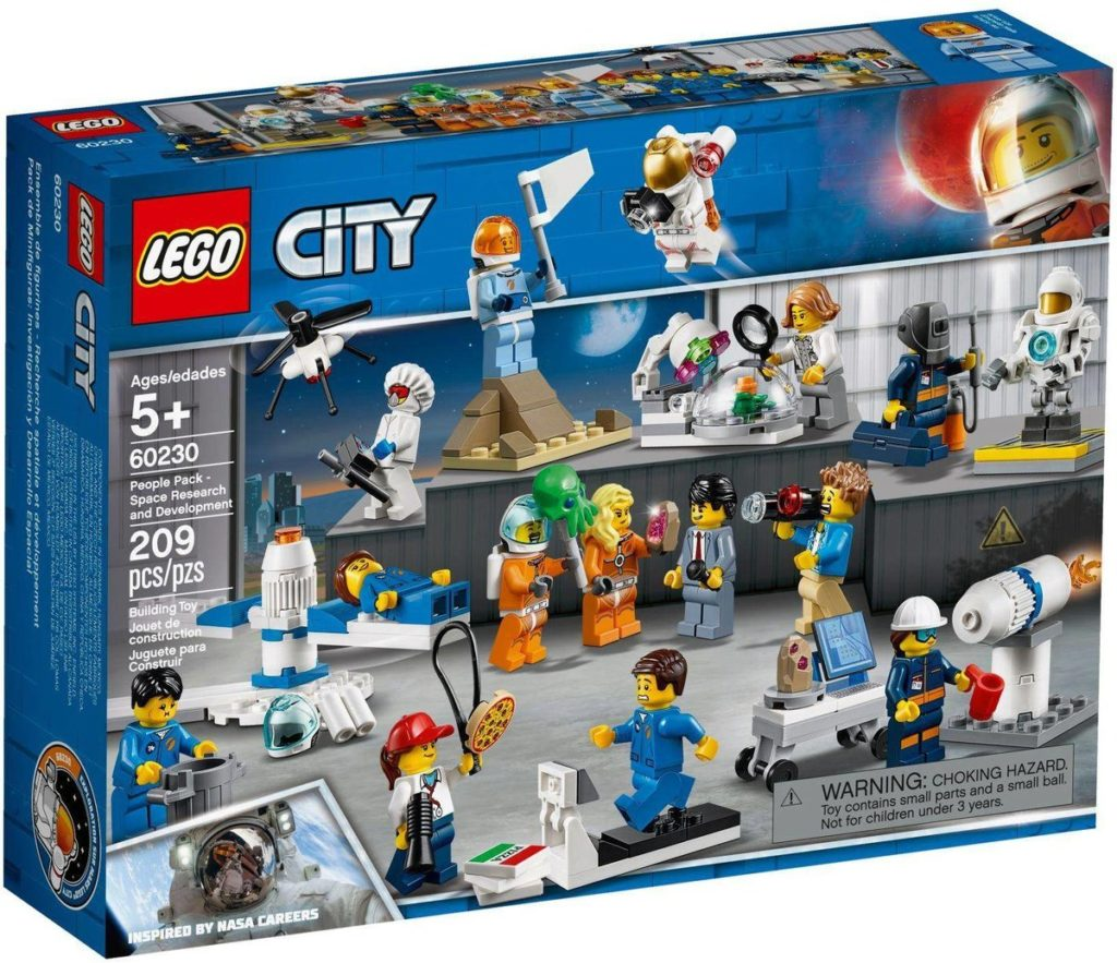lego city people pack space research and development