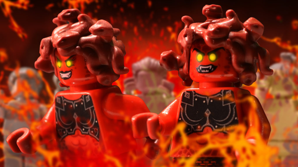 lego monsters gorgons