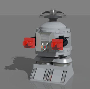 LEGO Lost Robot
