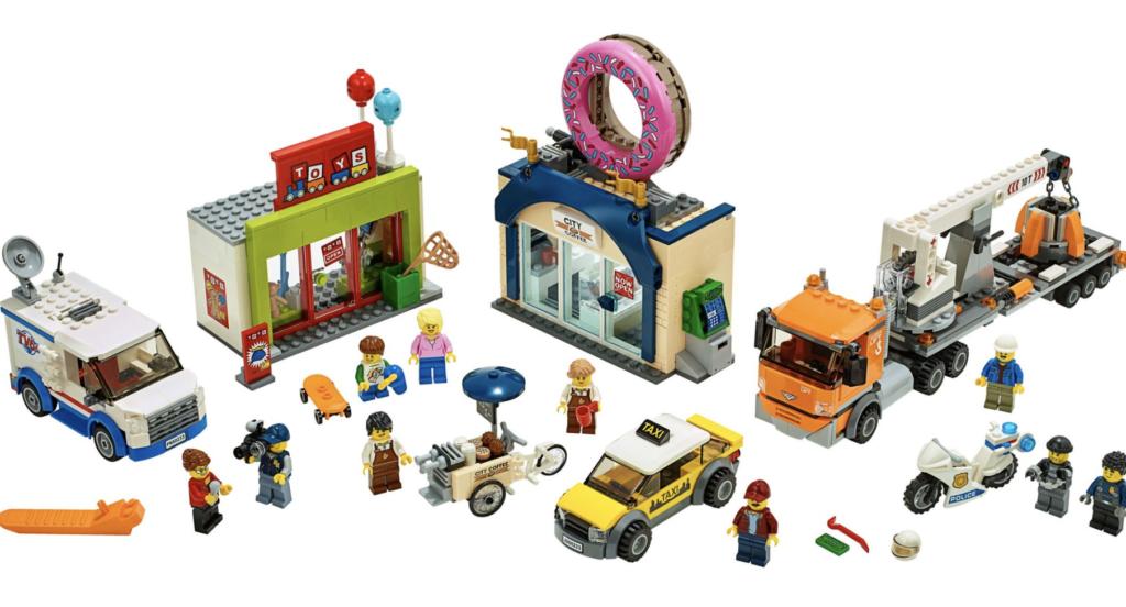 LEGO City 2019 - Image of Donut Store set