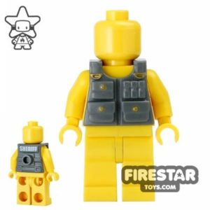 Image of Brickforge Dark Gray Sheriff Tactical Vest
