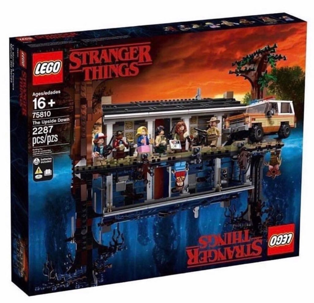 LEGO Stranger Things set box art.