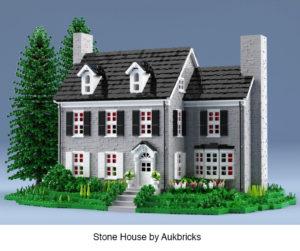 stone house by aukbricks