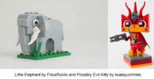 LEGO websites Eurobricks examples