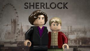 LEGO Ideas Sherlock Holmes