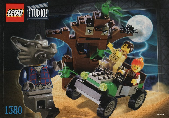 lego classic movie monsters werewolf