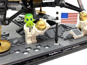 A Review of the LEGO NASA Apollo 11 Lunar Lander Set