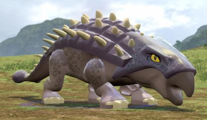 LEGO Jurassic World Game - Ankylosaurus