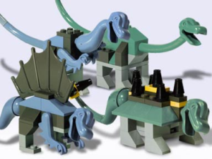 The History Of LEGO Dinosaurs - Baby Dinos