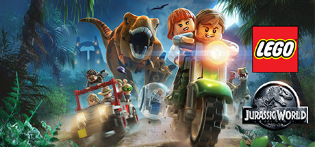 LEGO Jurassic World Game - Banner Art