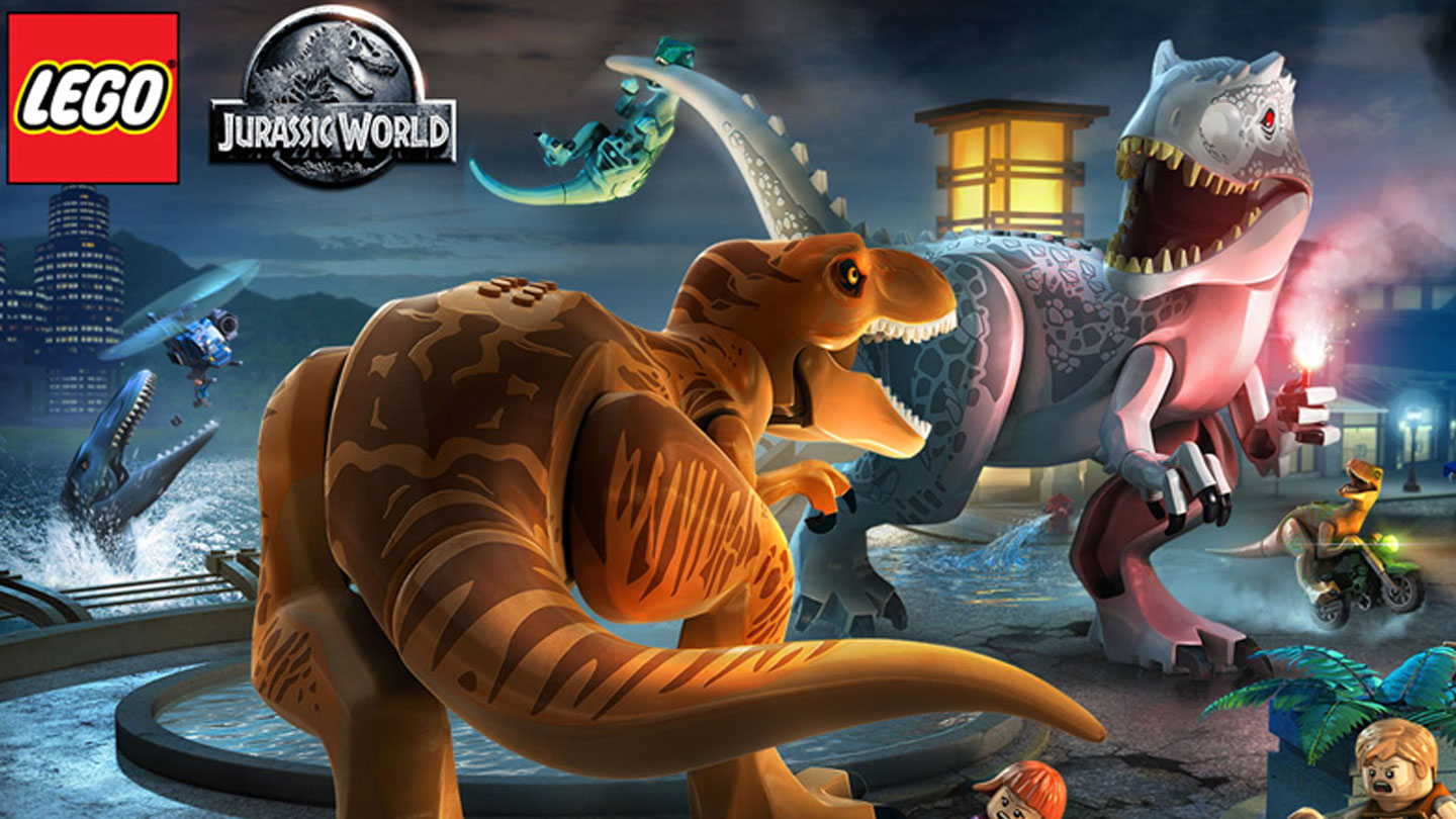 LEGO Jurassic World Game - End Art