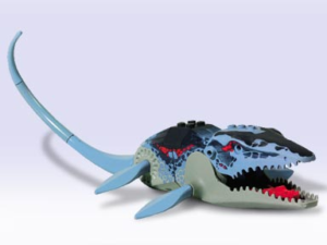The History Of LEGO Dinosaurs - Image of Mosasaur