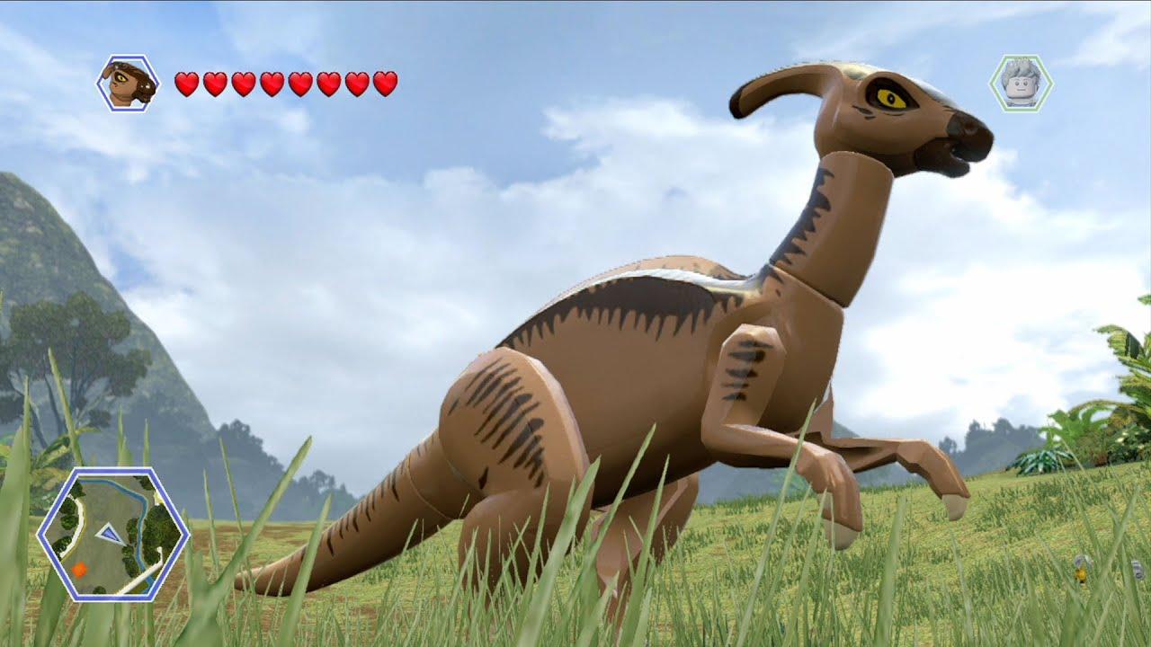 LEGO Parasaurolophus