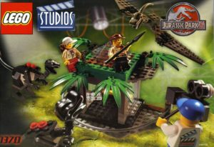 LEGO Studio JPIII Raptor Set