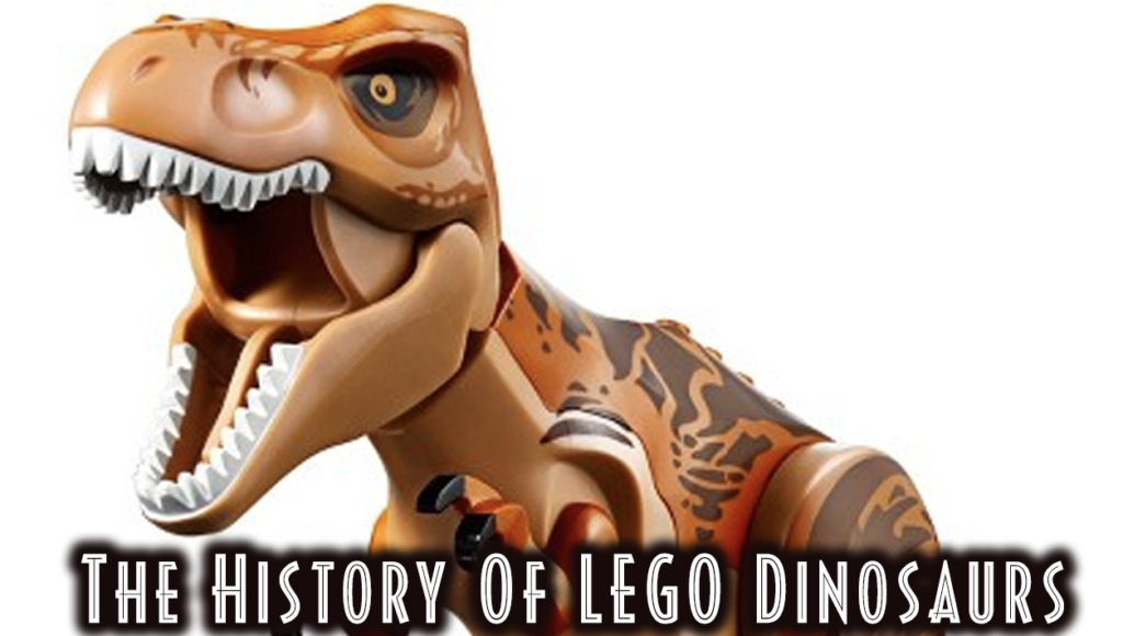 The History Of LEGO Dinosaurs - LEGO T-Rex Image