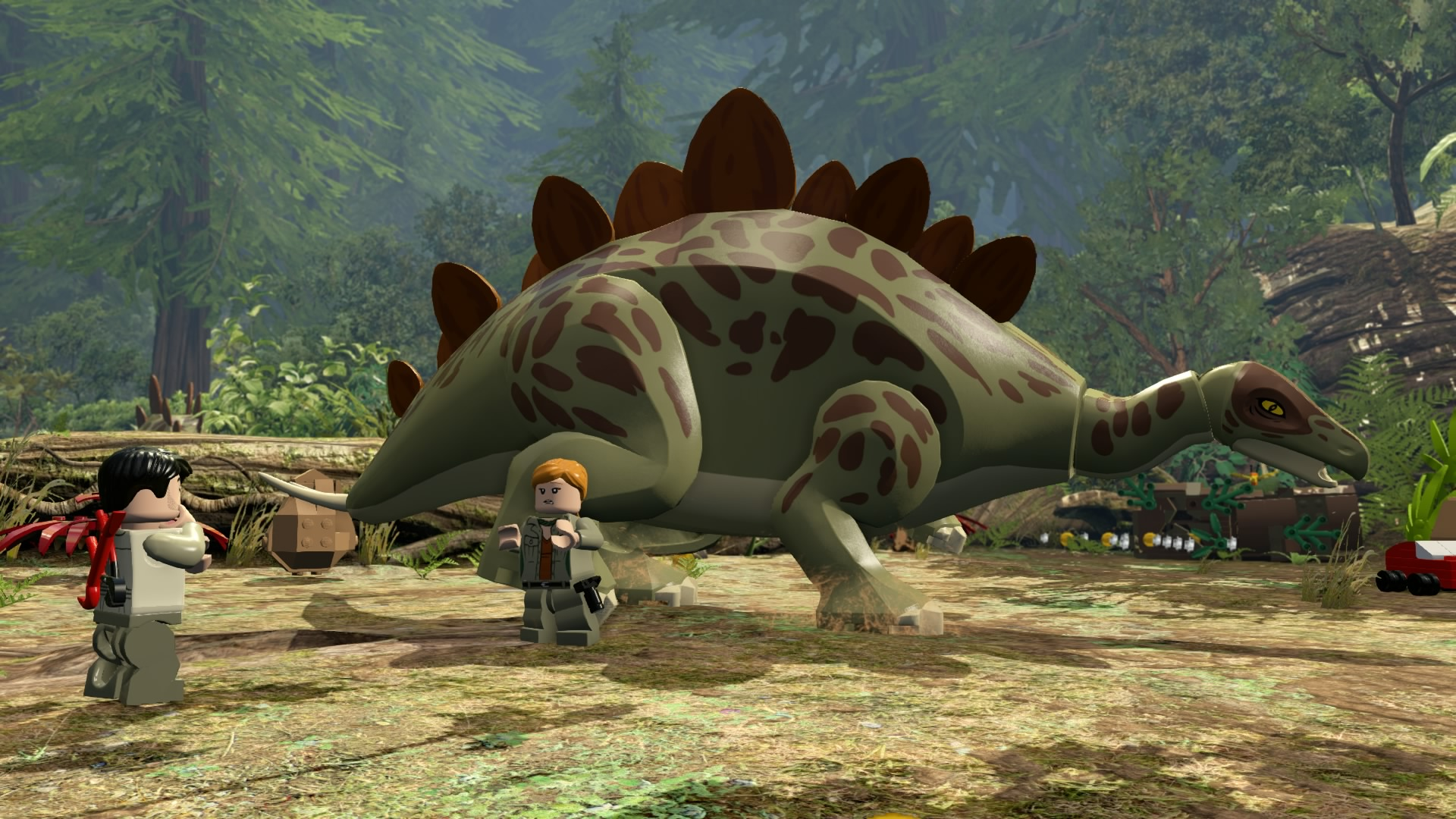 LEGO Jurassic World Game - Stegosaurus