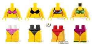 lego summer bikinis