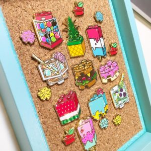 Caitlin Peters Stackable Snacks pins