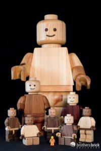 Craig Daniel wooden lego minifigures
