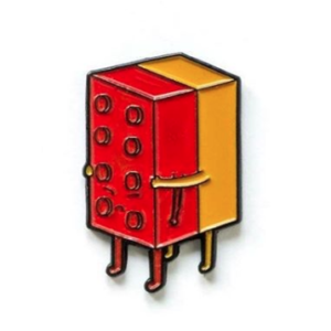 Lim Heng Swee I will never lego pin