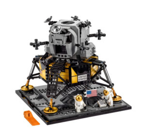 The LEGO Apollo Lunar Lander Will Fly You To The Moon!