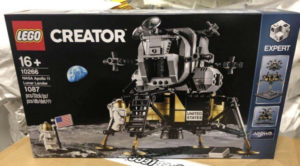 LEGO Lunar Lander on Box