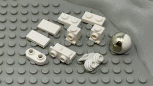 lego lunar lander astronaut modification parts
