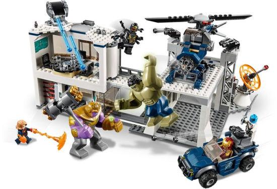 LEGO Avengers Avengers Compound Battle