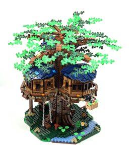 lego tree house spring