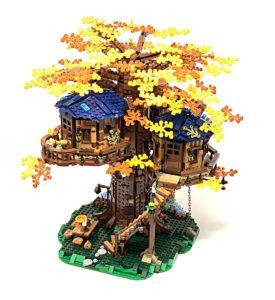 lego tree house autumn
