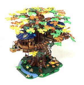 lego tree house finished