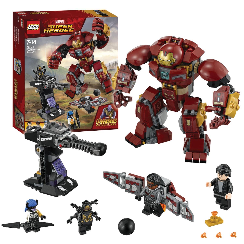 LEGO Avengers Hulkbuster Smash Up