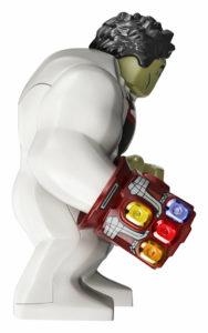 LEGO Avengers - Hulk in Quantum Suit with Iron Man Gauntlet