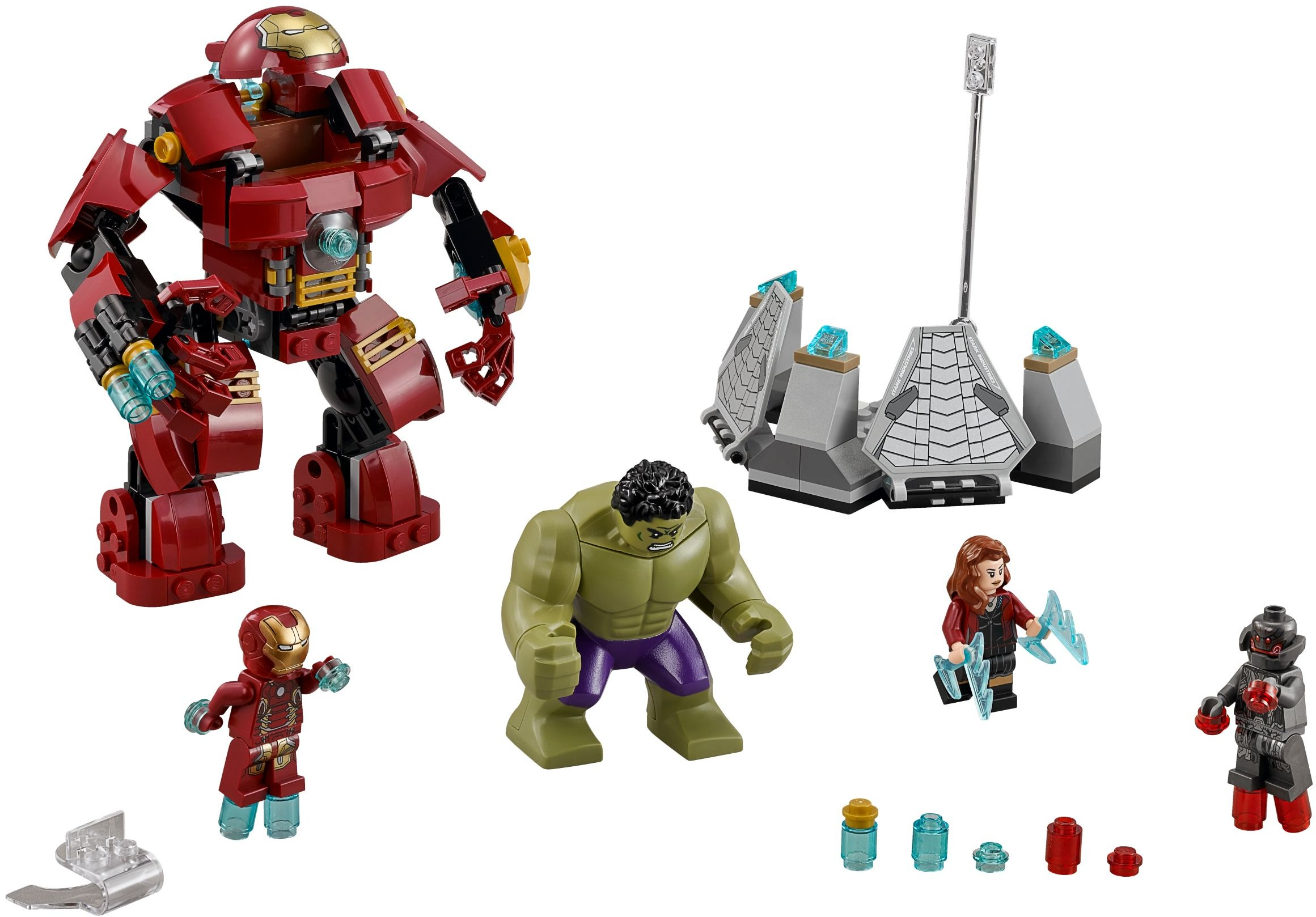 LEGO Hulkbuster Smash Up